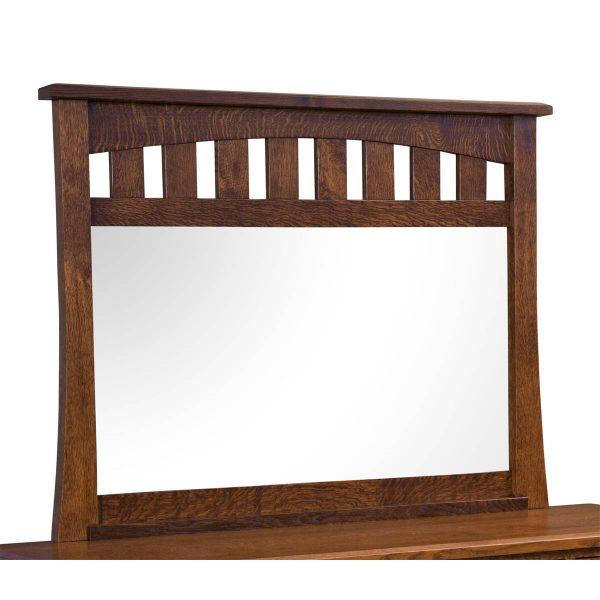 10 Drawer Slat Mirror